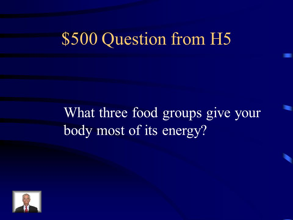 $400 Answer from H5 The milk, yogurt and cheese group – dairy products.
