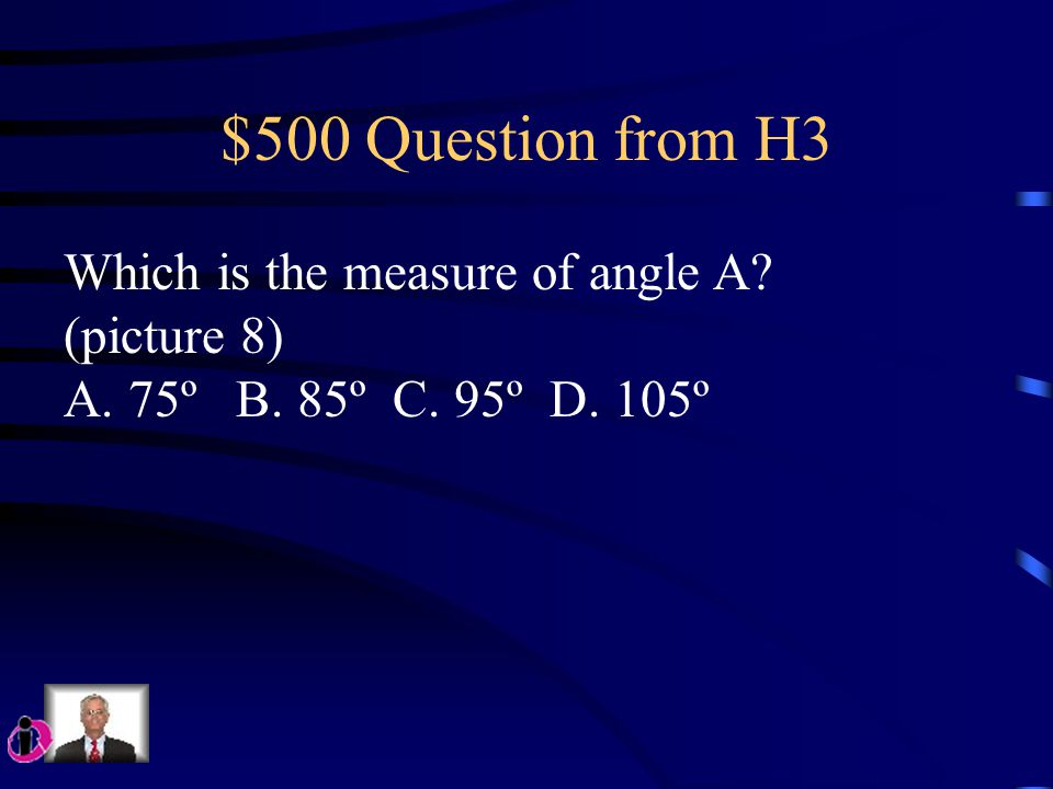 $400 Question from H3 For what value of x is the following Equation true? 2(x + 1) = 18 A. 8 B. 9 C. 10 D. 12