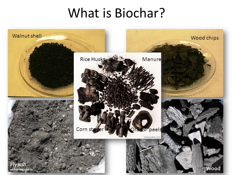 All biochars are not created equal….(McLaughlin et al.