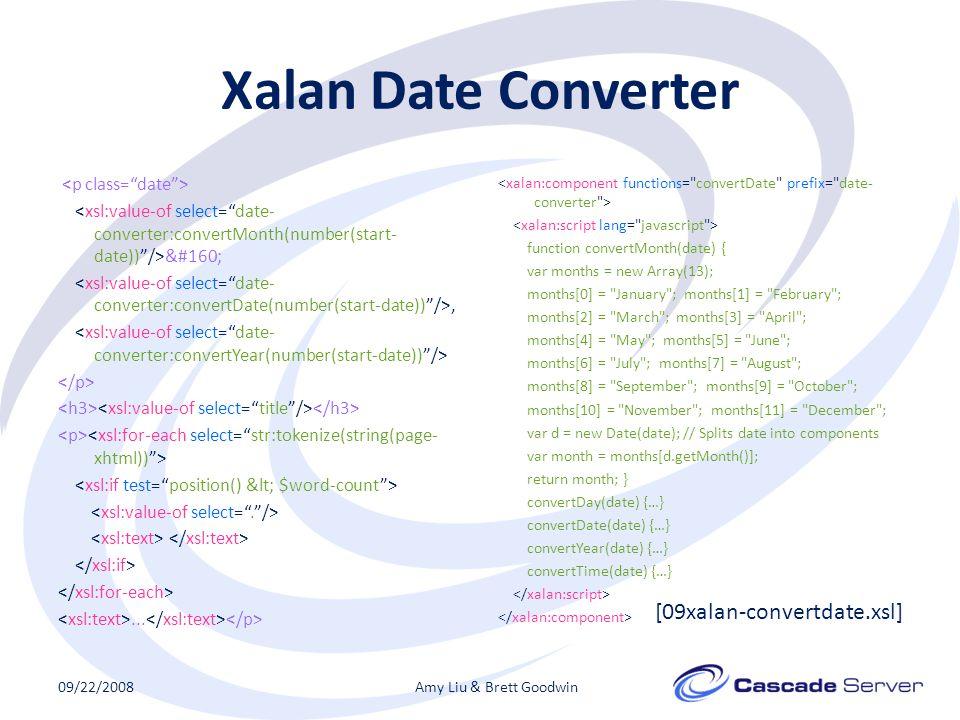Xalan Date Converter ,...