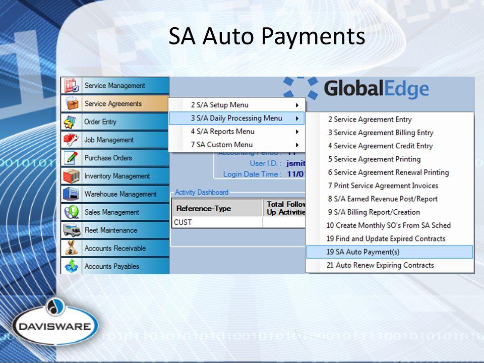 SA Auto Payments