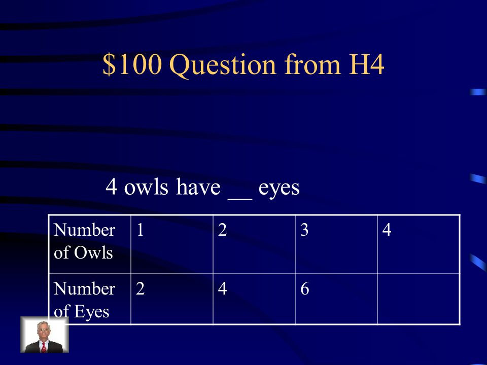 $500 Answer from H3 Even