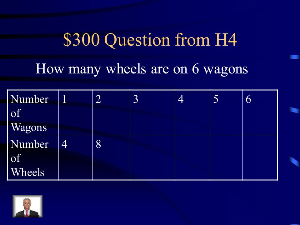 $200 Answer from H4 8 legs