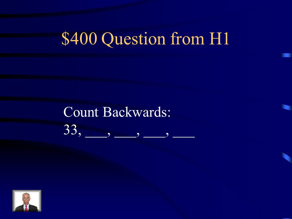 $300 Answer from H1 58, 57, 56, 55, 54