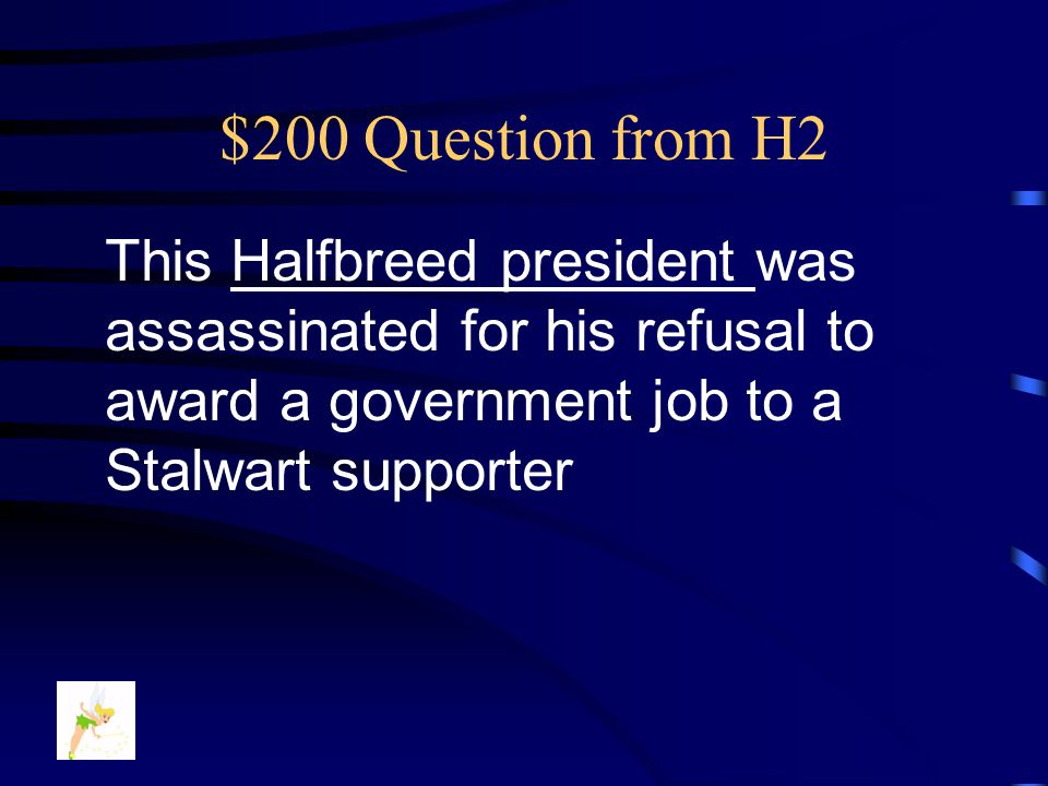 $100 Answer from H2 Who is …. Ida B. Wells