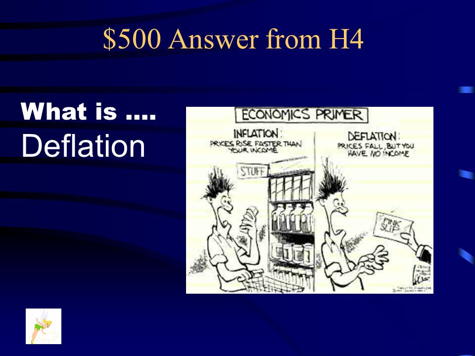 $500 Question from H4 The result of this economic problem is falling prices.