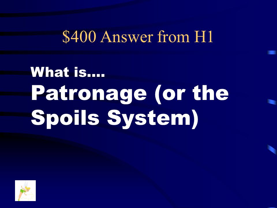 $400 Answer from H2 Who are …. silverites