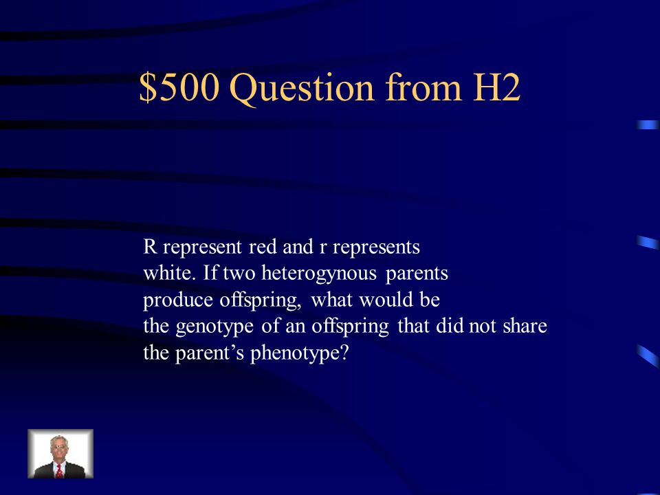 $400 Answer from H2 Red