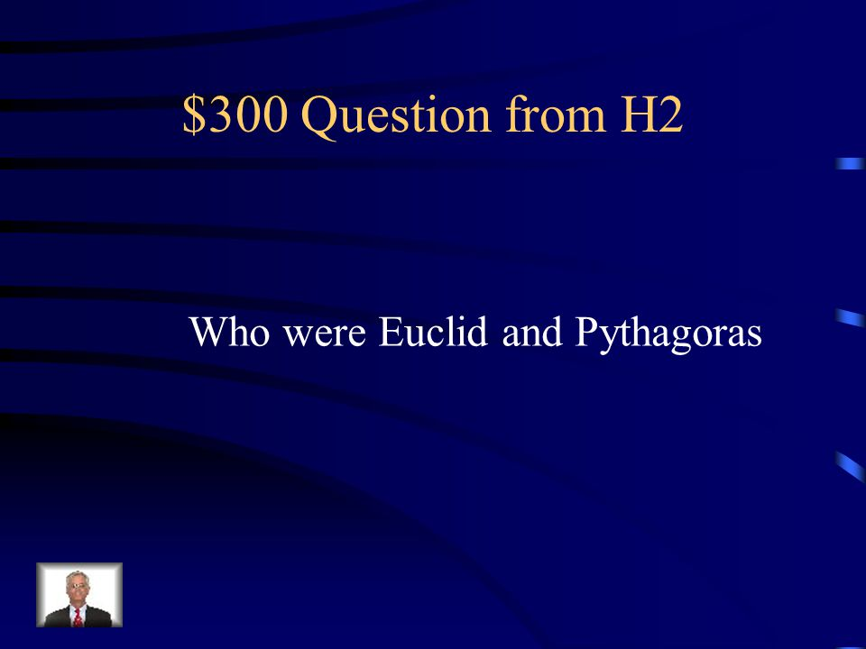 $200 Answer from H2 religious
