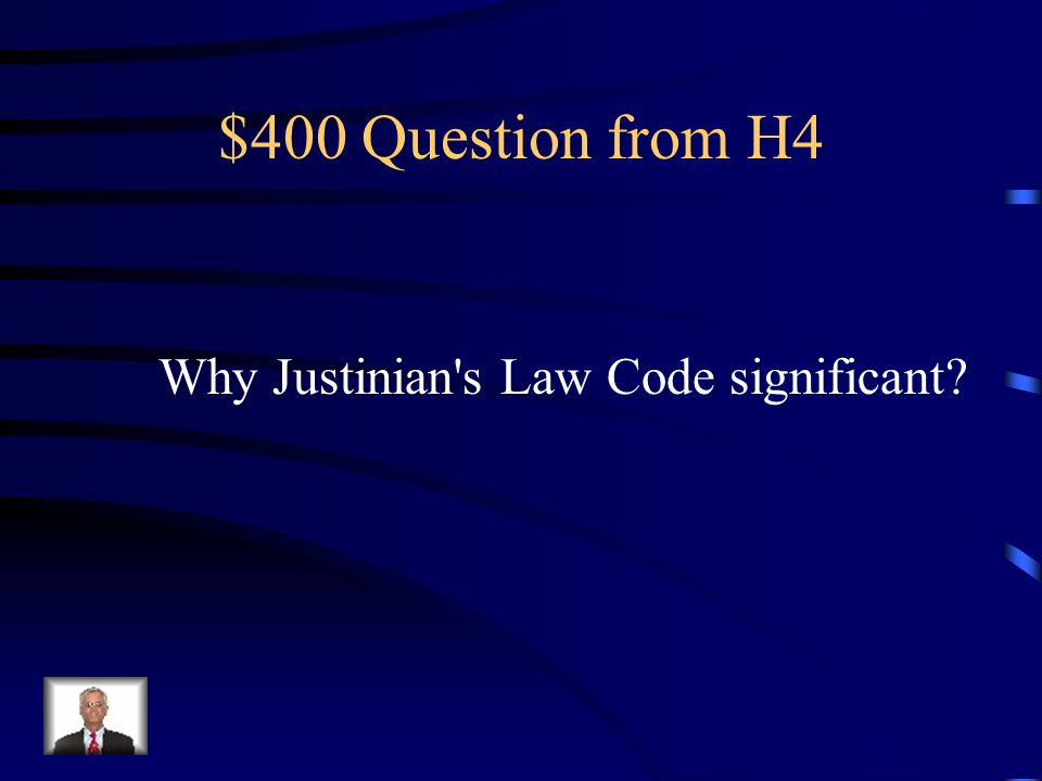 $300 Answer from H4 Law codes Monumental architecture Stratified society