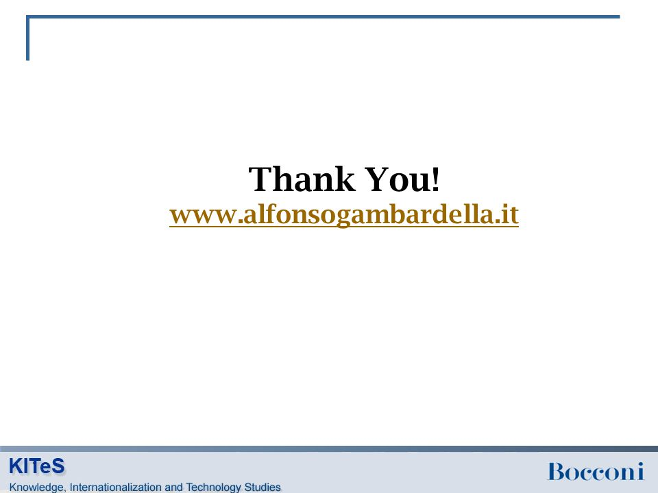 Thank You! www.alfonsogambardella.it www.alfonsogambardella.it