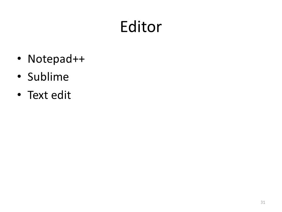 Editor Notepad++ Sublime Text edit 31