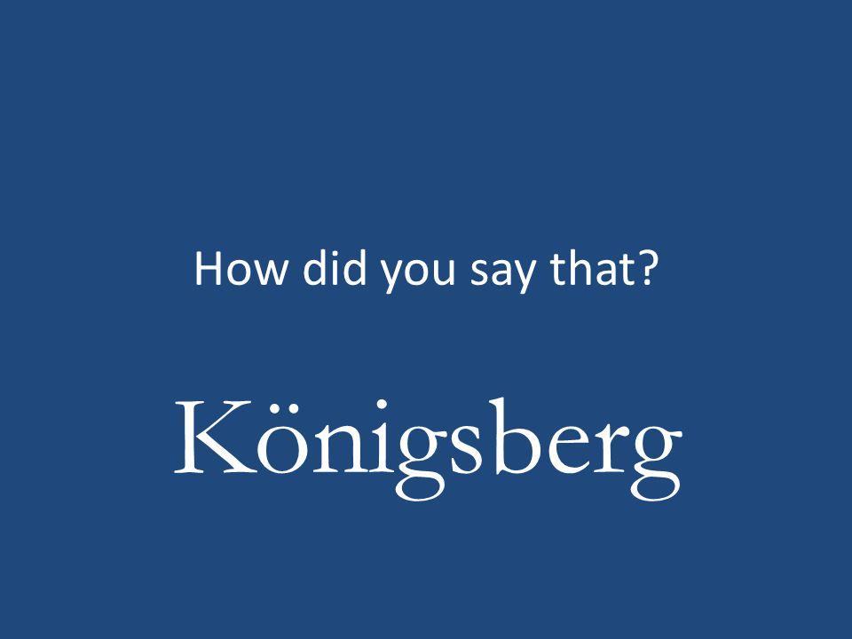 Königsberg