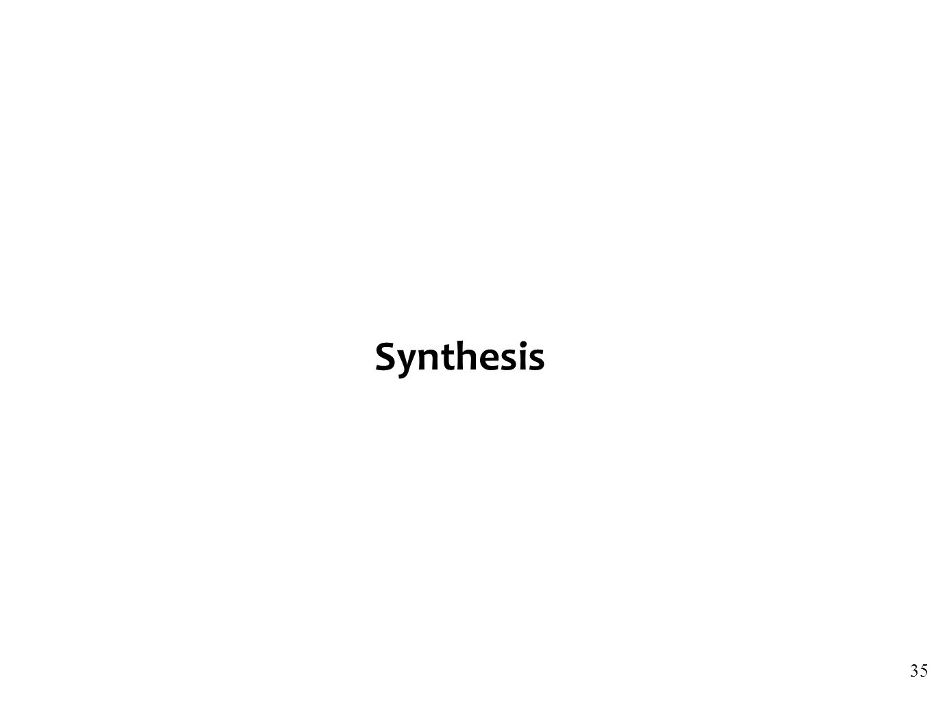 Synthesis 35