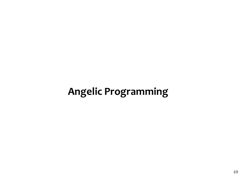 Angelic Programming 49