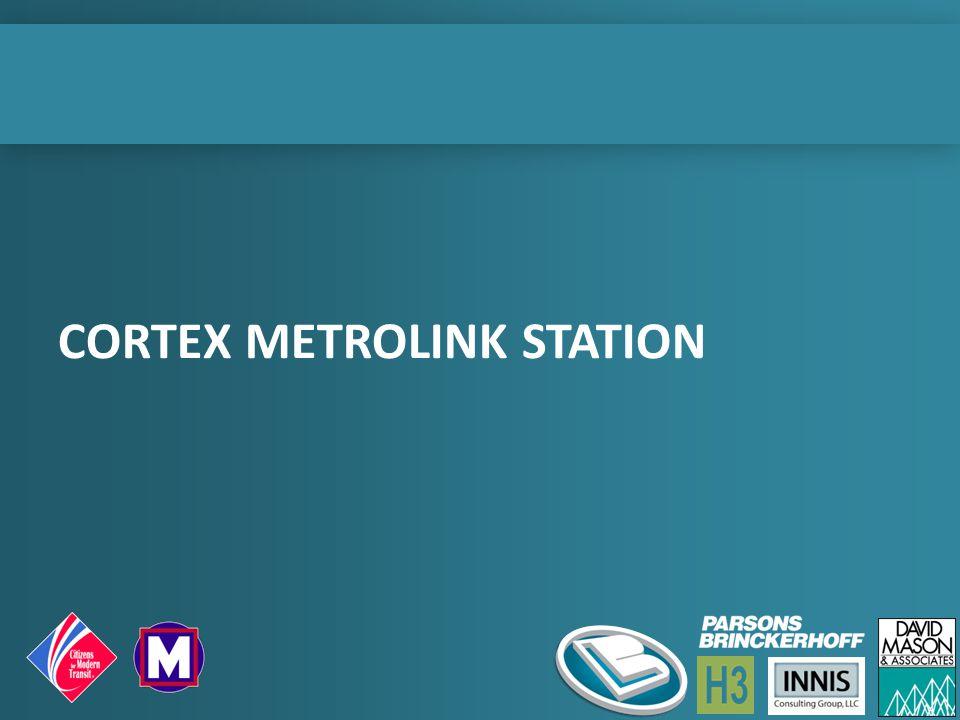 CORTEX METROLINK STATION