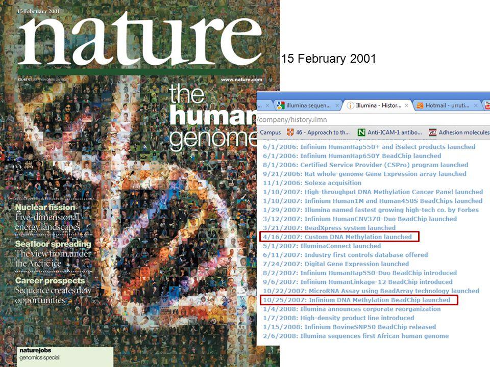 15 February 2001