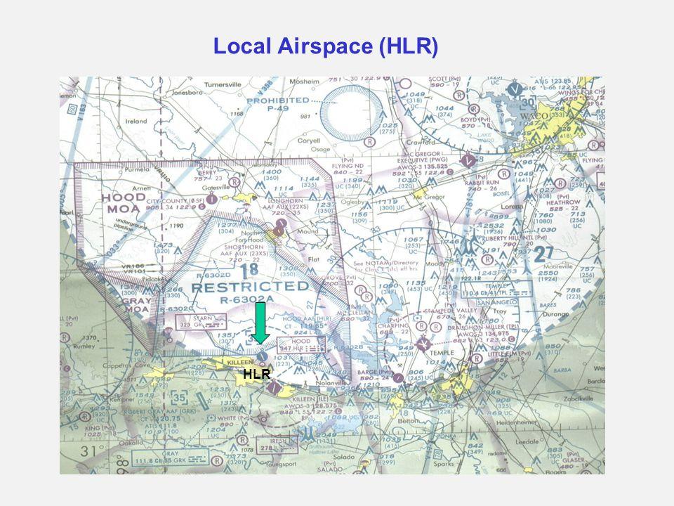 Local Airspace (HLR) HLR