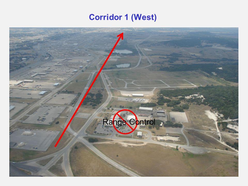Corridor 1 (West) Range Control