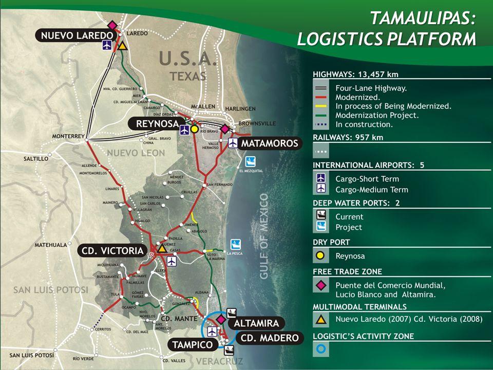 TAMAULIPAS: LOGISTICS PLATFORM