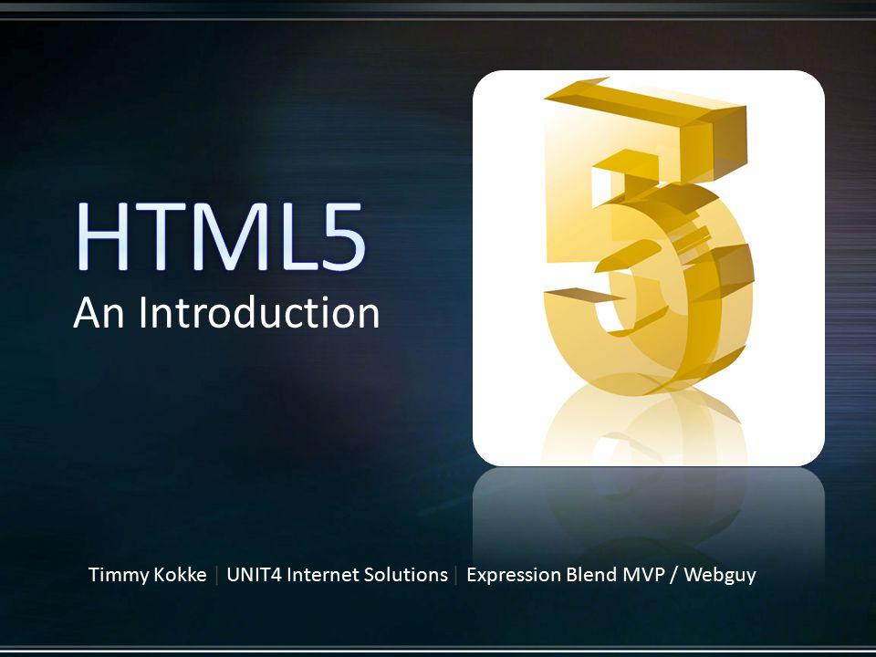 HTML5 - Semantics