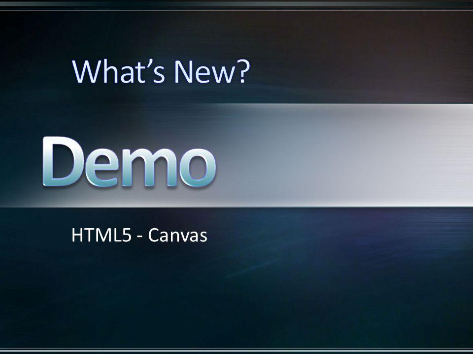 HTML5 - Canvas