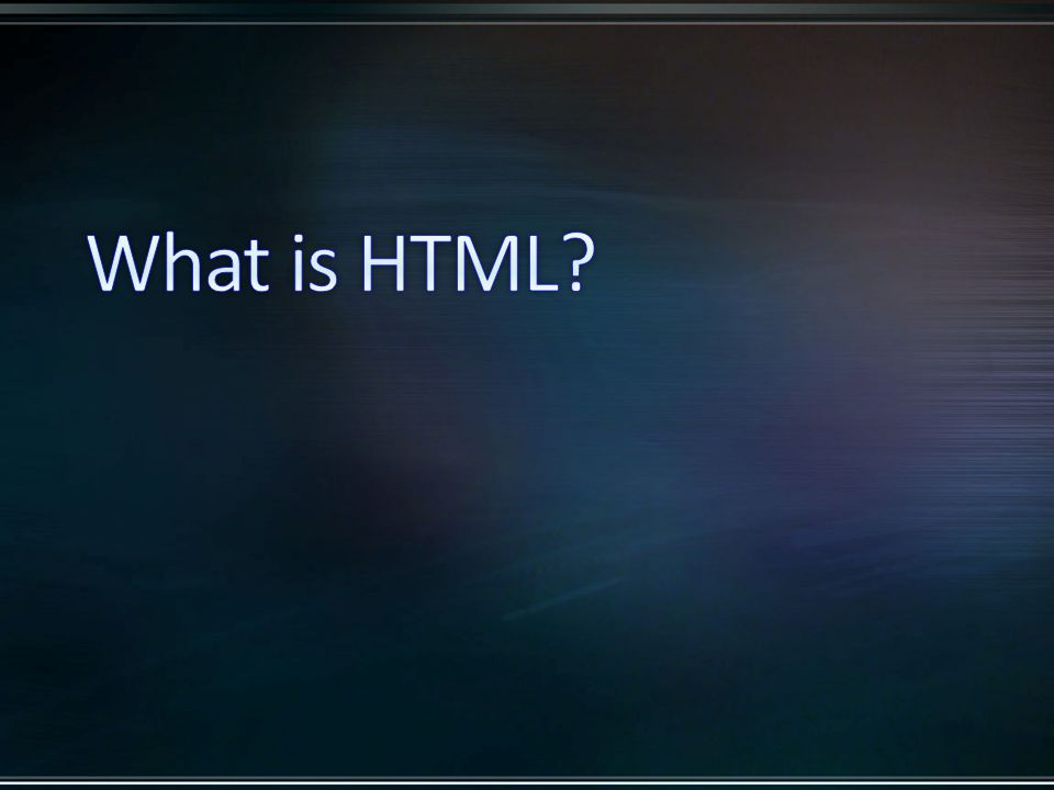 HTML5 – New input types