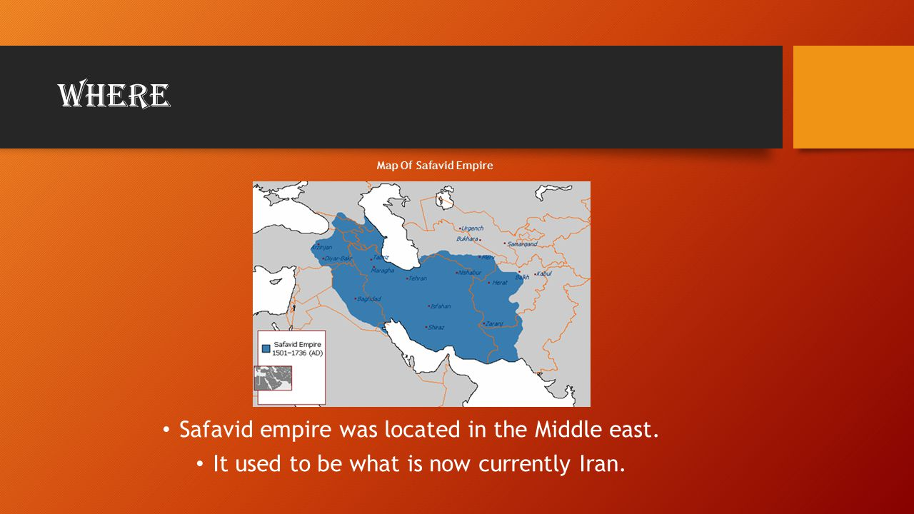 When The Safavid empire was founded in 1501,when it declared independence from the Ottoman empire This was when Ismail declared him self Shah The Safavid empire existed from 1501 to 1722