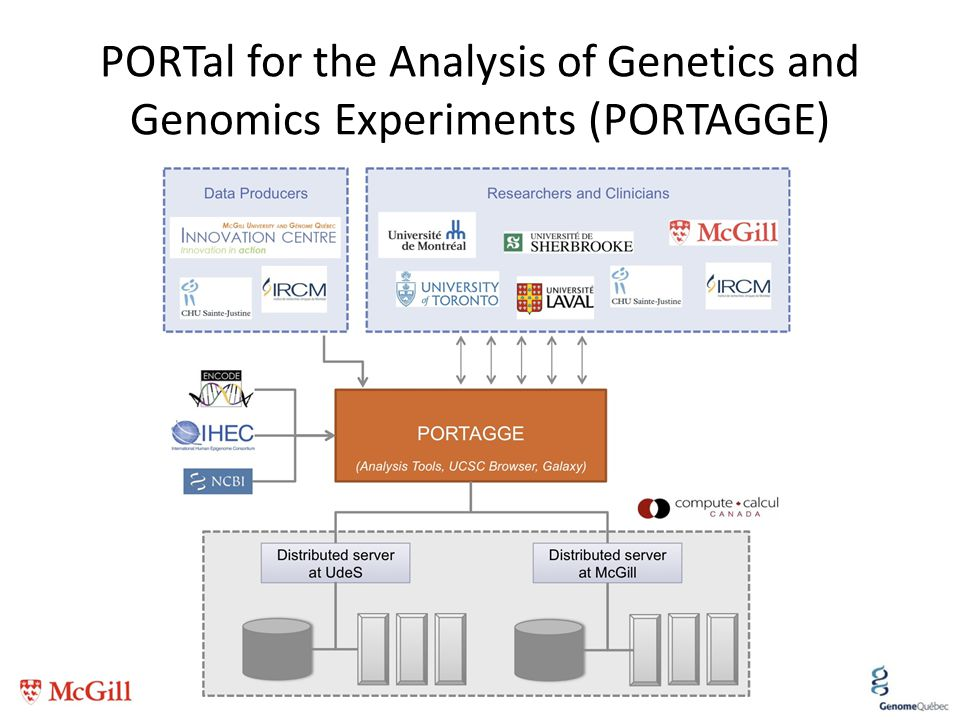 PORTal for the Analysis of Genetics and Genomics Experiments (PORTAGGE) 40