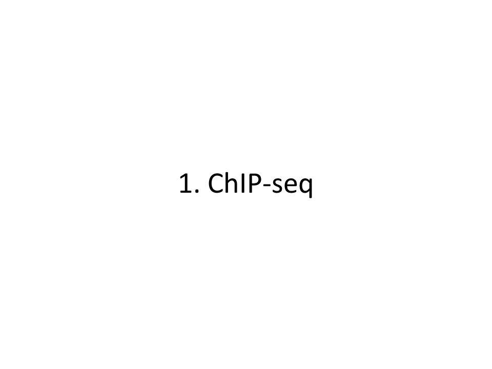 1. ChIP-seq