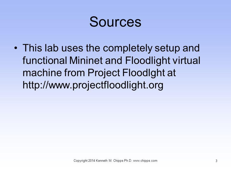 Setup the Virtual Machine This is a VMware virtual machine It will also run in VirtualBox Copyright 2014 Kenneth M.