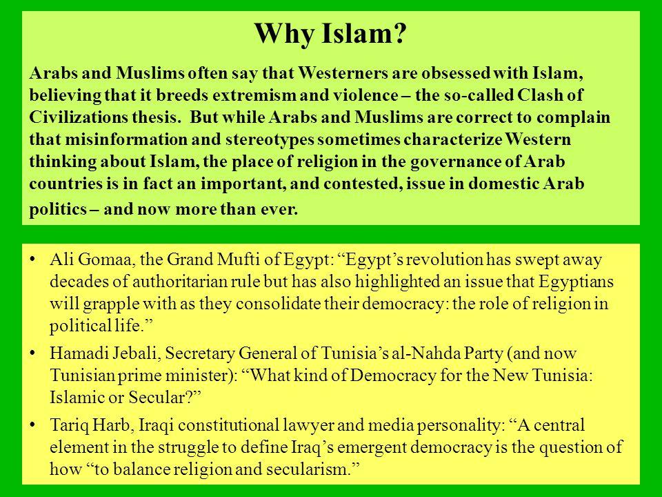 Why Islam.