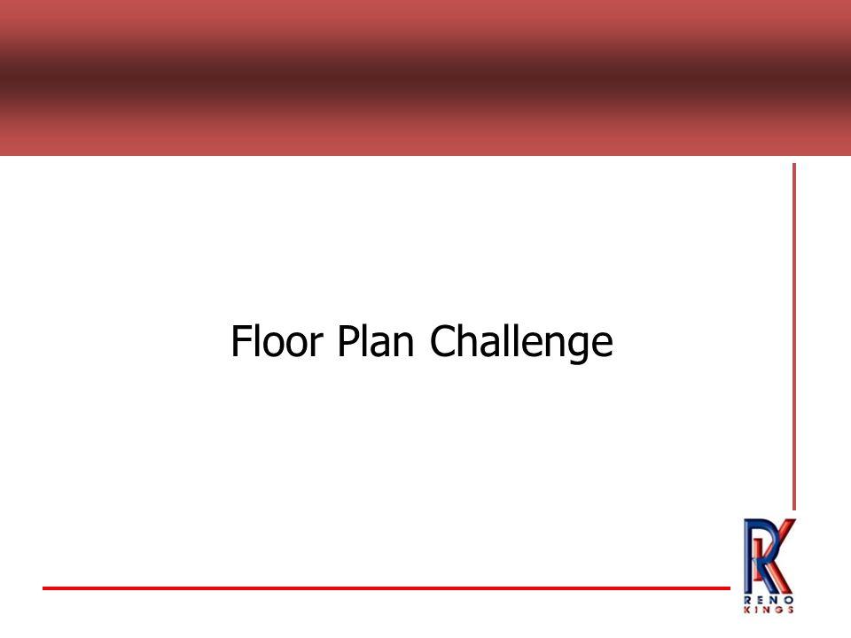 Floor Plan Challenge
