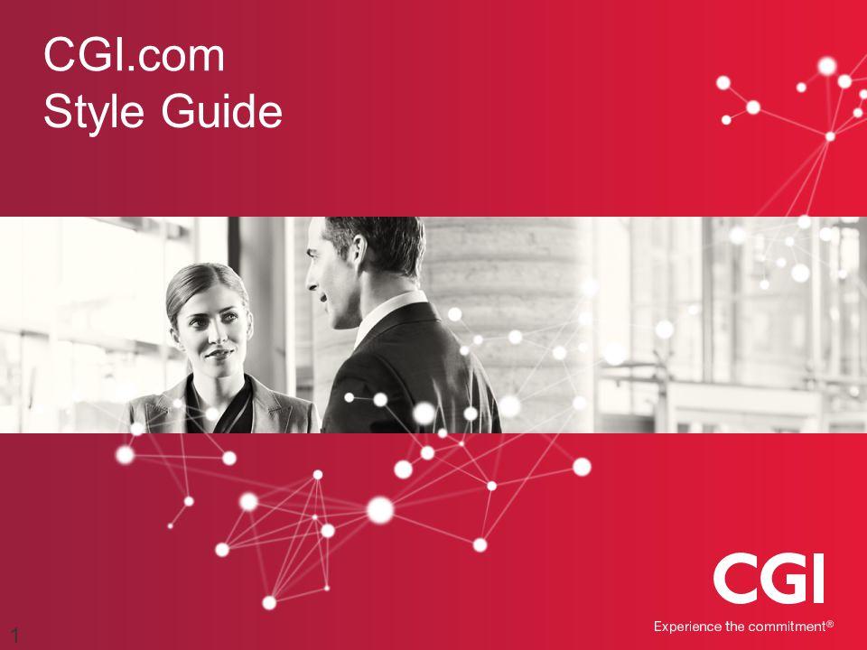 CGI.com Style Guide 1