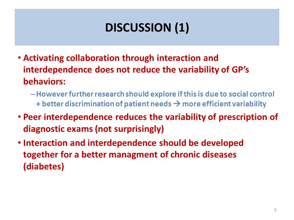 Patients' perception of the responsiveness of their GP is more sensible to peer-interdependence alone and actually reduced by the complementarity with peer-interaction.