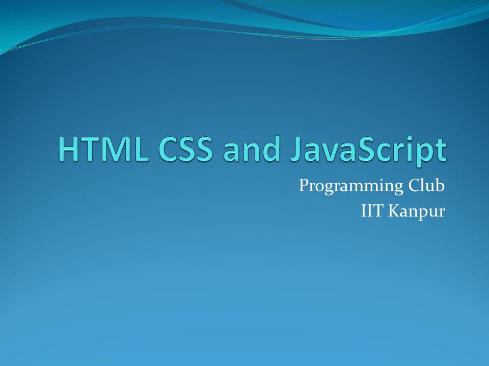 Programming Club IIT Kanpur