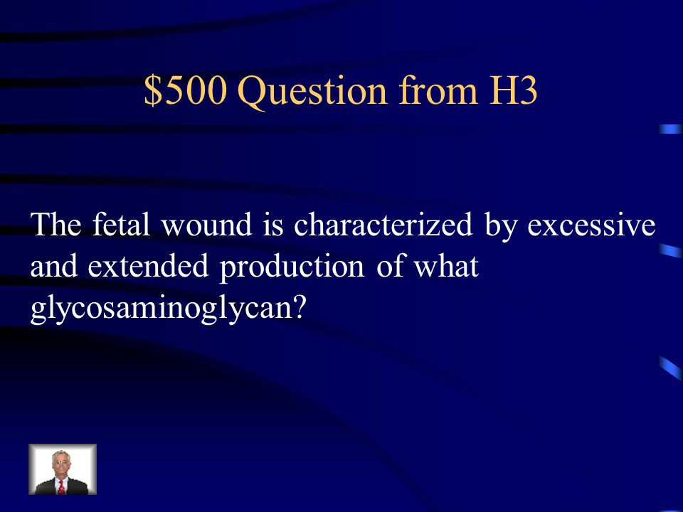 $400 Answer from H3 Chondrocytes