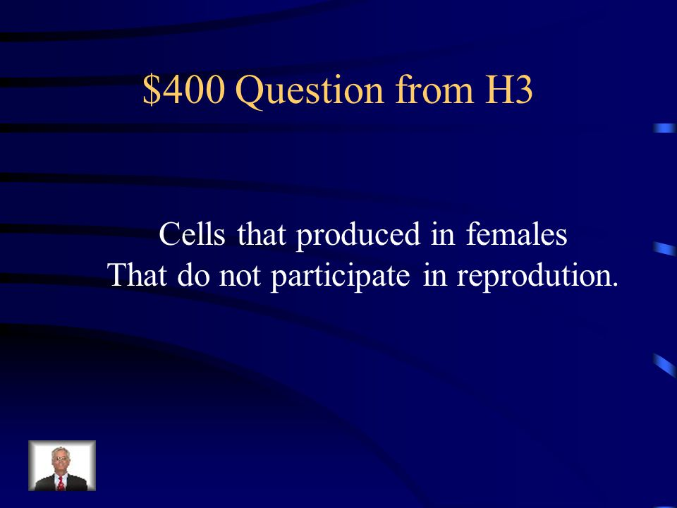 $300 Answer from H3 Anaphase