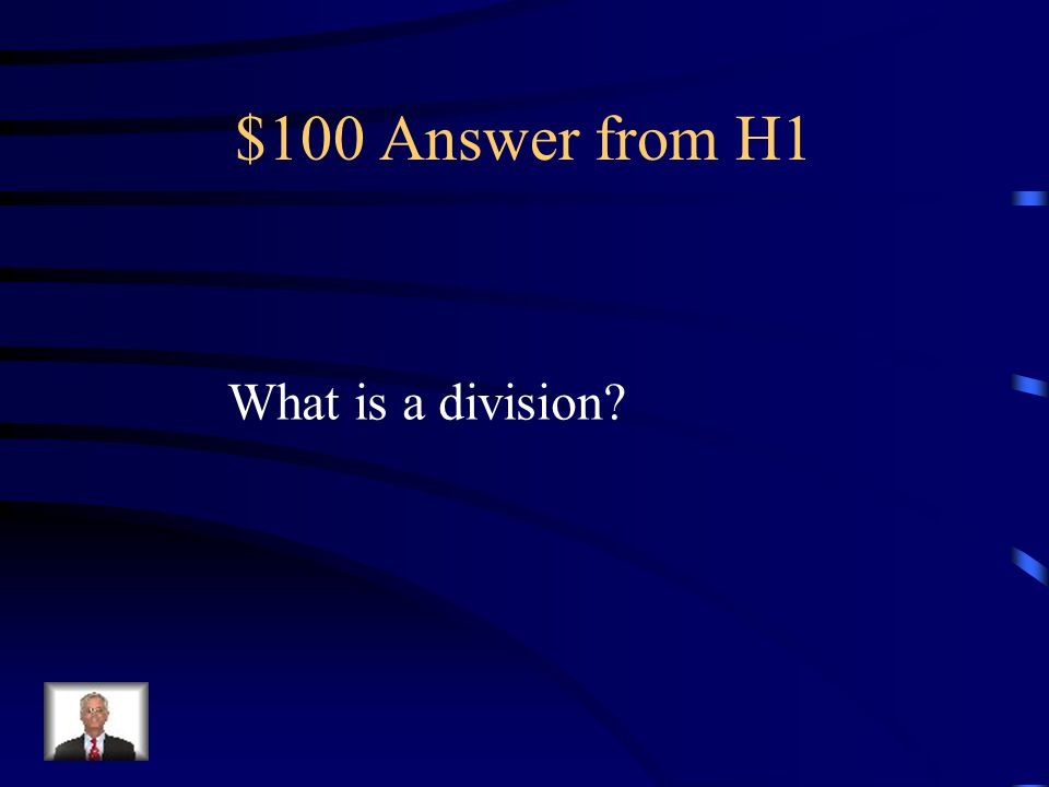 $100 Question from H1 Plants have this instead of phylum