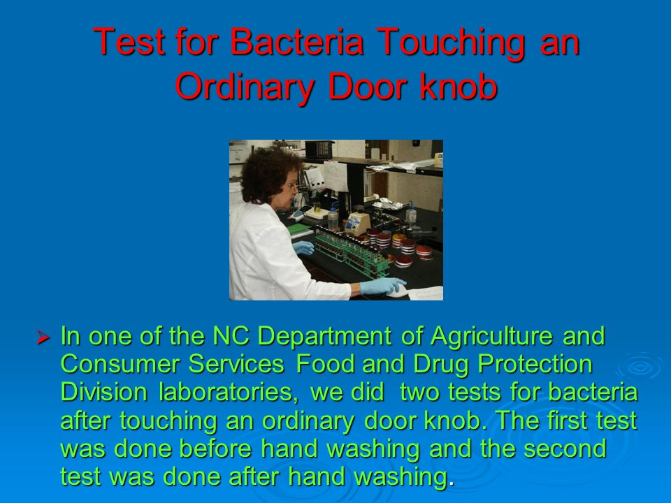 Good Hygiene Practices at the Farm  Workers who wear gloves must still wash their hands properly.