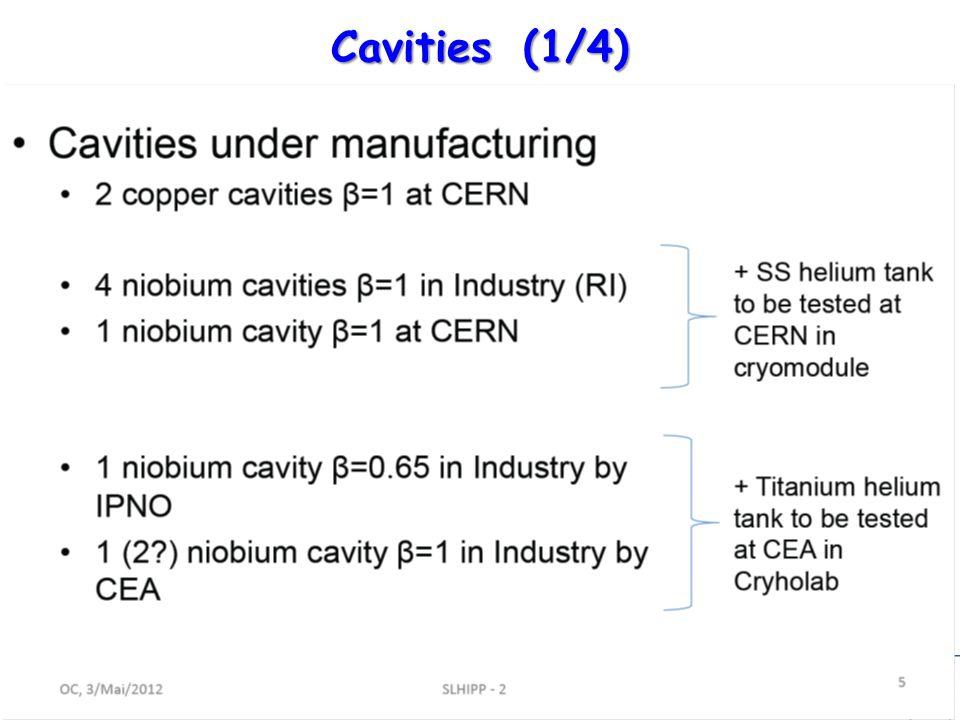 R. G. – 15/05/2012 10 Cavities(1/4)