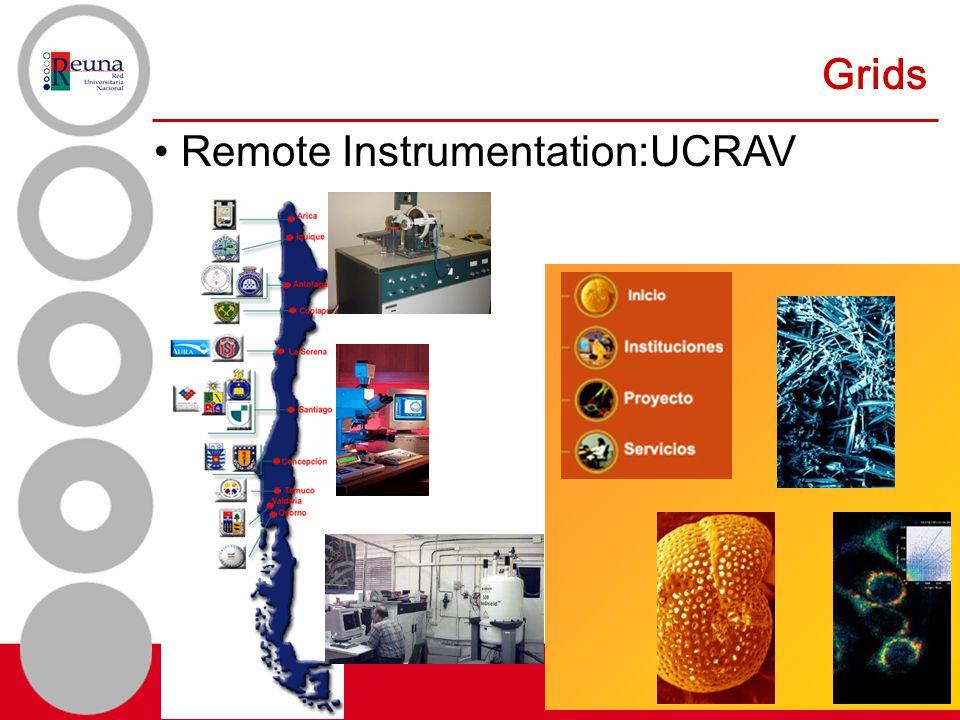 Grids Remote Instrumentation:UCRAV