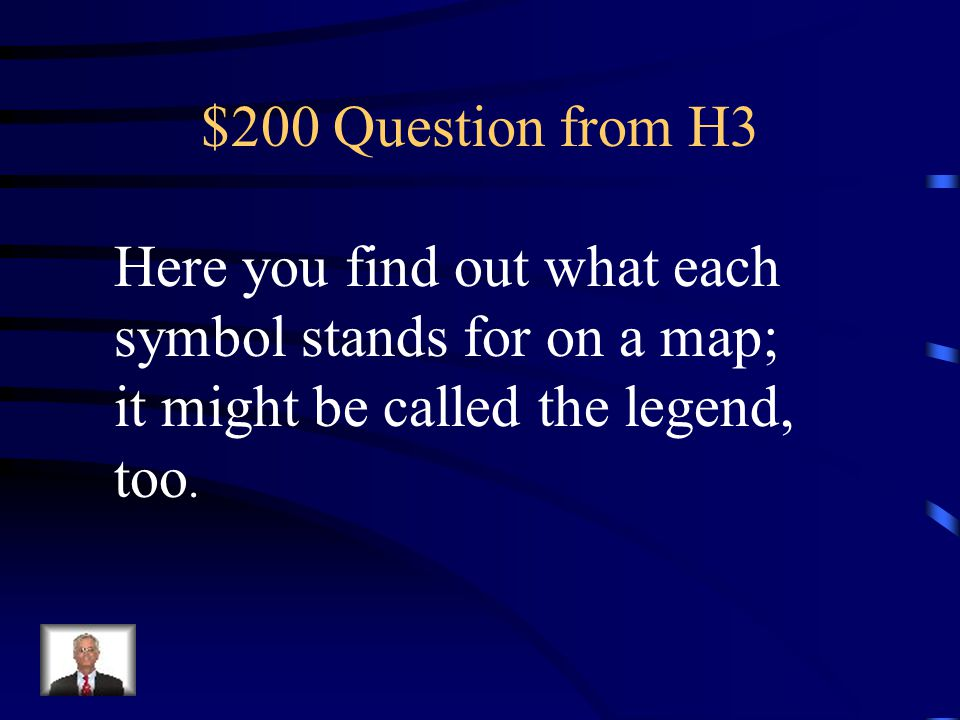 $100 Answer from H3 What is the compass rose?
