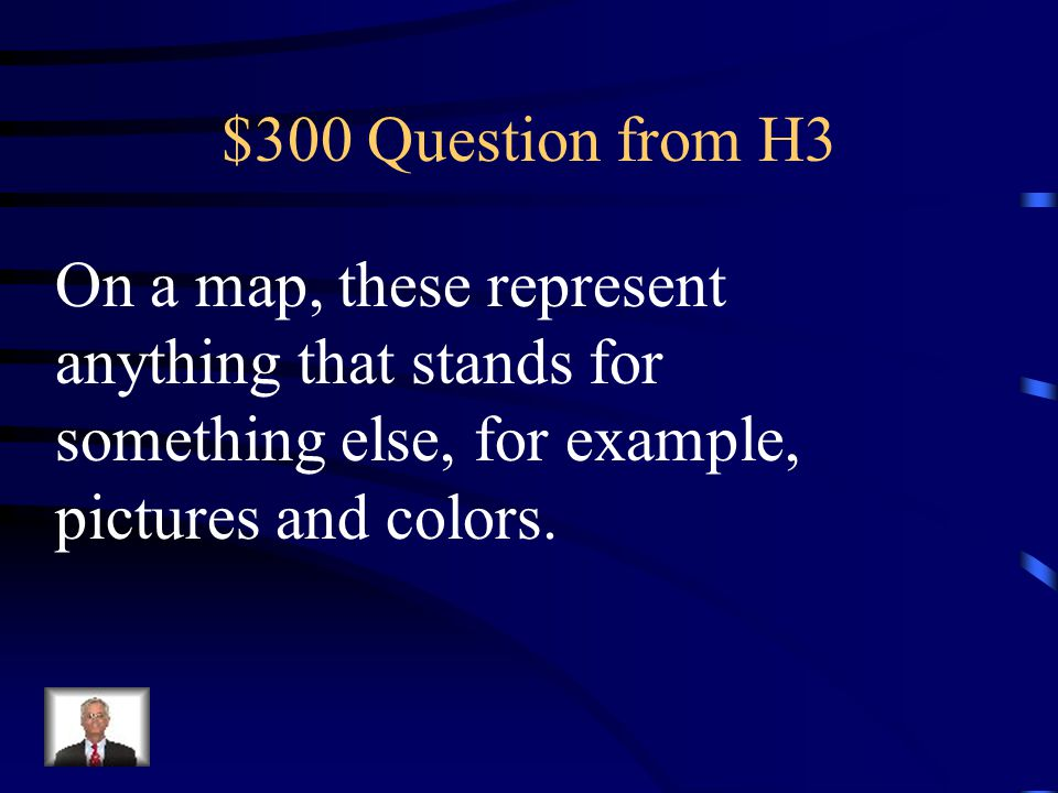 $200 Answer from H3 What is the map key?