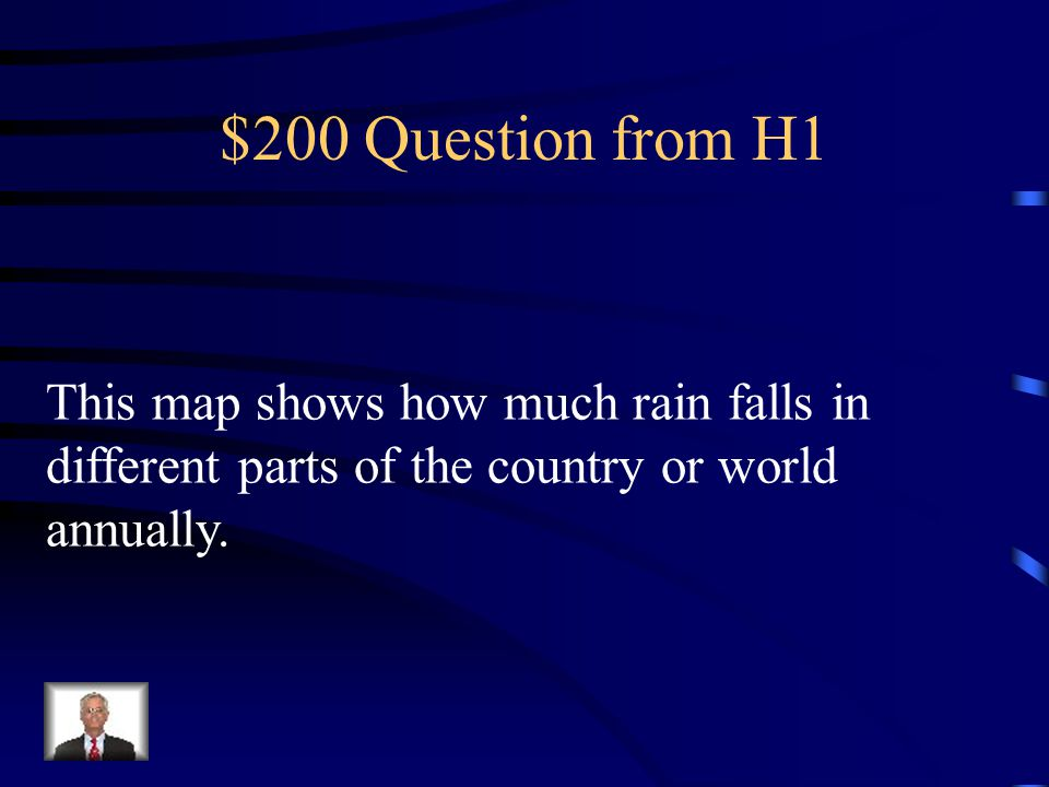 $100 Answer from H1 What is a population map?