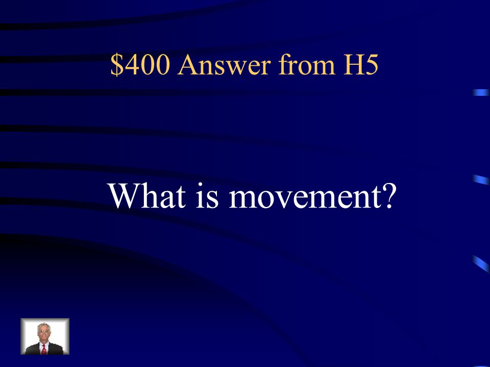 $400 Question from H5 This theme looks at how people, goods, and ideas get to from this place.