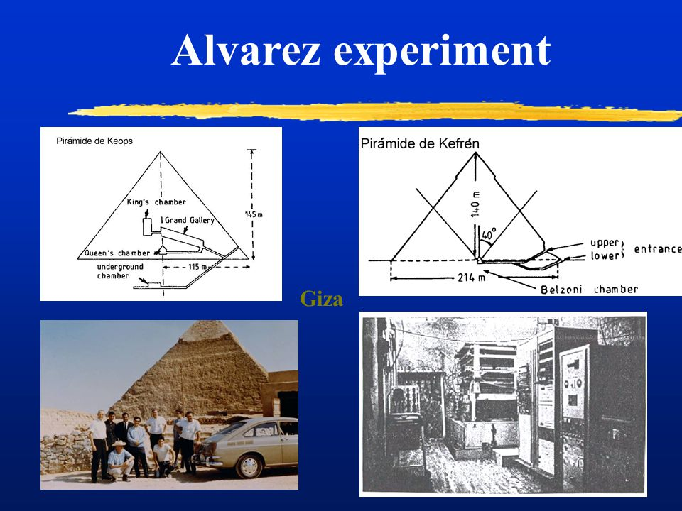 Alvarez experiment Giza