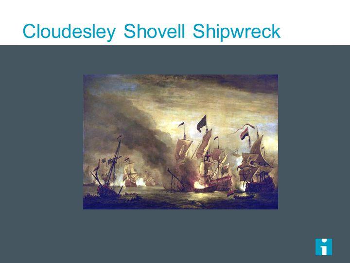 Cloudesley Shovell Shipwreck