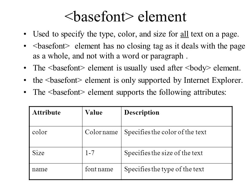 Second element is used to define paragraphs: align and direction.