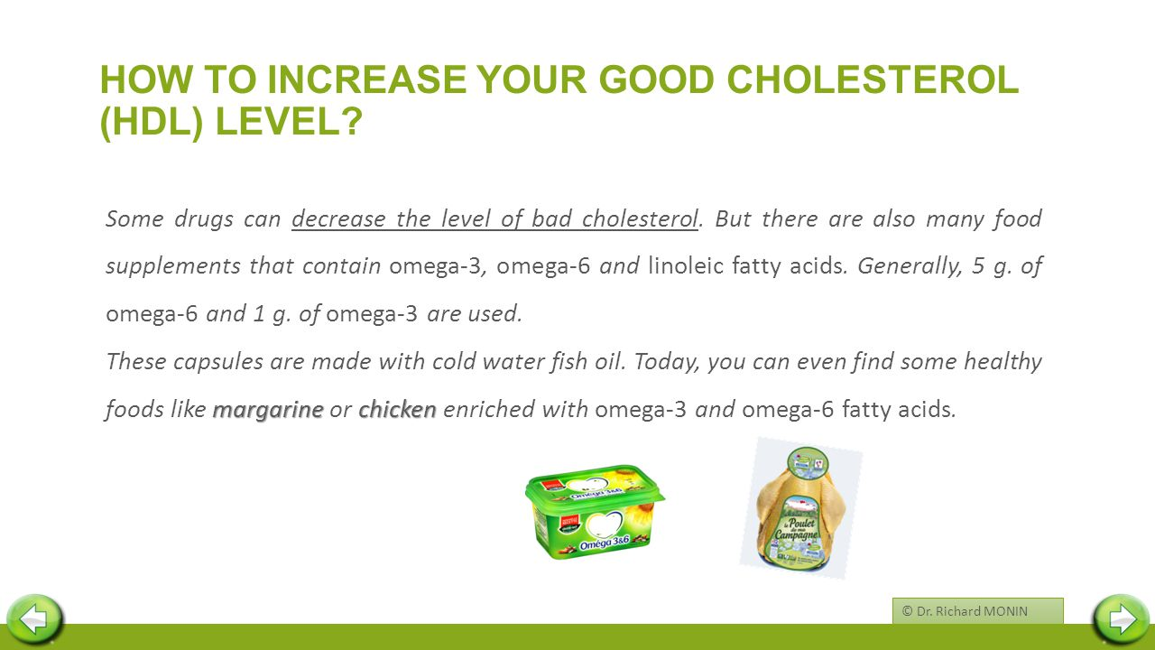 HOW TO INCREASE YOUR GOOD CHOLESTEROL (HDL) LEVEL.